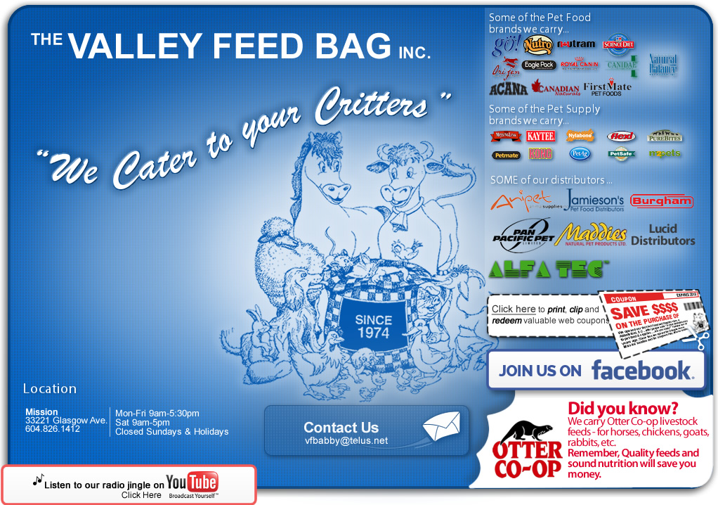 The Valley Feed Bag Inc.